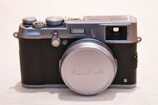 Fujifilm X100S 16.3MP Digital Camera - Silver -  Many Extras