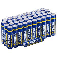 Varta Batterien Micro AAA LR03 Made in Germany Vorratspack 40 Stück in umwe~~