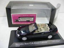 1/43 Minichamps MB clk cabriolet 2003 negro 400031430