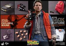 HOT TOYS 1/6 BACK TO THE FUTURE MMS257 MARTY MCFLY MIB Special Courier Best Deal