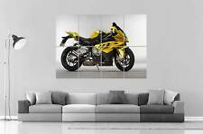 MOTO BMW S1000 Wall Poster Grand format A0 Large Print