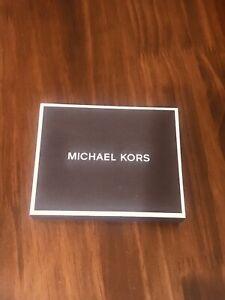 Michael Kors Jet Set Brown Leather Slim Billfold Wallet