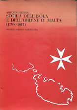 Menna Storia dell'isola e dell'Ordine di Malta 1798-1815