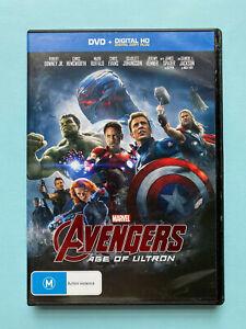 Avengers: Age Of Ultron 🎬 DVD Region 4 PAL 🎬