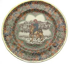 Masons Ironstone plate Chaucers Canterbury Pilgrims The Knight CP104