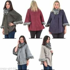 be46a698d0e Plus Size Poncho Coats   Jackets for Women