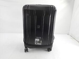 """DELSEY Paris 40207982000 - Hardside Expandable Luggage, Black Checked-Medium 25"""""""
