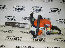 "Stihl MS180c Gas Powered Commercial Grade Chain Saw Chainsaw 14"" Rollomatic Bar"