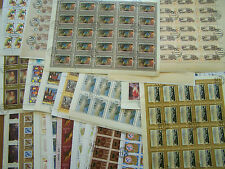 100 DIFFERENT RUSSIA FULL SHEETS,U/M, C.T.O.EXCELLENT.