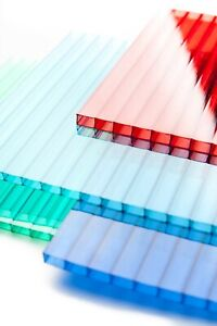 Polycarbonate Roofing Sheets 4MM, 6MM, 8MM,10MM, Twin Wall, Shed, Green Houses