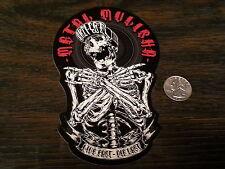 METAL MULISHA Live Fast Die Last Sticker Vinyl Car Window Decal Circus Red Blk