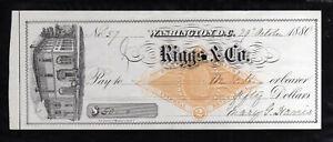 A1692 -  1880   RIGGS & CO.  - WASHINGTON, D.C.