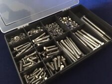 A4-316 Marine Grade Stainless Steel 500 pcs  Assorted Bolts and Nuts and Washers
