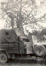WWII German RP- Truck- KFZ- Door Open- Canvas Cargo Cover- Spare Tire- 1940s