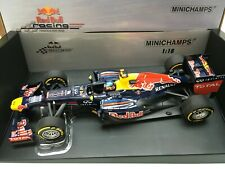 1:18 Minichamps #110 120001 Sebastian Vettel Red Bull RB8 #1 2012