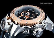 Invicta 52mm Bolt Zeus Magnum Diver Quartz Rose Gold Bezel Dual Movement Watch