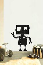 ROBOT No11 Infantil cuarto del bebé vinilo adhesivo pegatina para pared arte