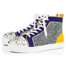 Christian Louboutin NO LIMIT Spikes Crystal High Top Mens Sneakers Shoes $1995