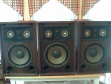 "LOT of 3 VINTAGE SANSUI SP-1700 Speakers 3-Way 5-Driver 12"" Woofer Untested"
