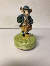 "Vintage Beatrix Potter, wind up music box, ""The Tale of Johnny Town Mouse�"