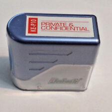 Privé et Confidentiel Deskmate pré-encré Rouge Rubber Stamp instrument-KE-P10
