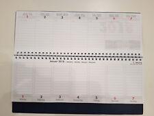 Tischkalender 2018 / 2019 / Wochenkalender im Quer-Format / 52 Wochen