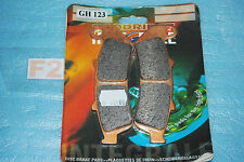2 plaquette de frein GOODRIDGE Honda CBR 1000 F /FP de 1993/1999 réf.GH123