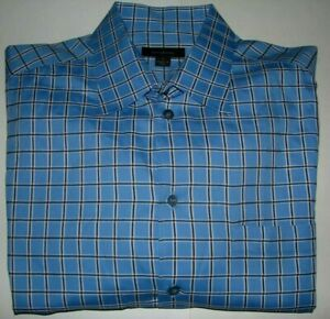 Men's Ermenegildo Zegna Button-up Shirt Size XL Made In Italy