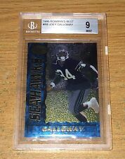 1995 Bowman's Best Joey Galloway Rc BGS 9 Mint Old Label