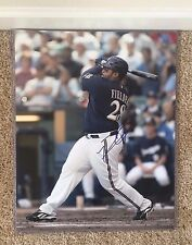 Prince Fielder Signed Autograph 16x20 Photograph Texas Rangers MLB All Star