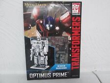 FASCINATIONS METAL EARTH 3D LASER CUT MODEL OPTIMUS PRIME BRAND NEW L@@K!!!
