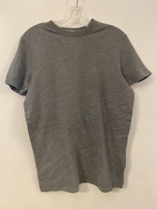 Abercrombie &Fitch Men's Super Soft Unprinted Muscle T-Shirt New Dark Gray Large