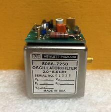 HP 5086-7250, 2.0 to 8.4 GHz, SMA (F), YIG Oscillator-Filter + 5061-1026  *SALE*