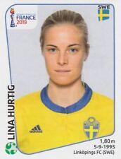 Panini Sticker Frauen Fußball WM 2019 Nr. 479 Lina Hurtig SWE Sweden NEU Bild