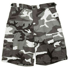 BERMUDA RIPSTOP CAMOUFLAGE CAMOUFLAGE MILITAIRE PAINTBALL COMMANDO ARMEE CARGO