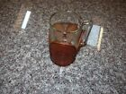 Vintage Libbey Western Beer Mug with Leather Cuff