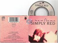 """SIMPLY RED a new flame CD SINGLE 8cm 3""""inch"""