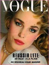 Vogue Paris # 626 May 1982 ANNETTE STAÏ_ROSEMAY McGROTHA_CHRISTIE BRINKLEY