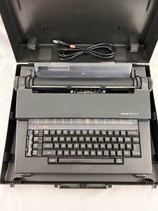 Olivetti Praxis 35 Electronic Typewriter ~ Hard Carry Case