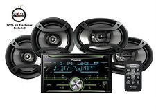 "Pioneer FH-X730BS CD Receiver Bluetooth w/ One Pair of 6.5"" &  6x9"" Speakers"
