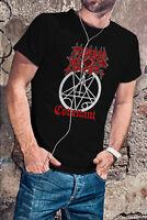 MORBID ANGEL COVENANT Men Black T-Shirt Metal Band Tee Shirt Obituary Entombed