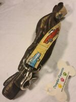 2003-06 Douglas Paquette  Dog Lead, With 1950's Cars On It, 6ft Length brand new