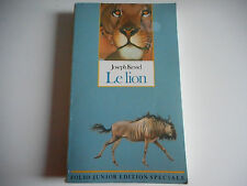 LE LION - JOSEPH KESSEL - FOLIO JUNIOR