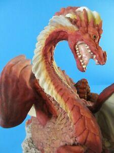 ENCHANTICA Fantasy Figures EN2034 SNARLGARD Autum Dragon 1st Edition
