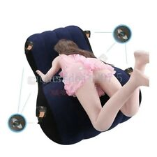 Couple Loves Games Inflatable Sex Pillow Cushion Aid Furniture Recliner cuffs