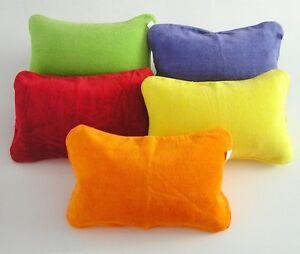 Strandkissen Reisekissen Kissen aufblasbar Nackenkissen verschiedene Farben NEU