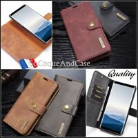 Housse Etui portefeuille coque Cuir Split Leather Case Samsung Galaxy Collection