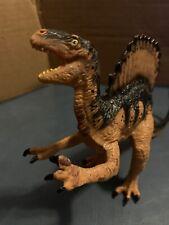 "Vintage-1992 Safari Ltd The Carnegie Spinosaurus Dinosaur Toy Pvc Figure 8"" Long"