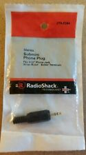 "NEW! RadioShack Submini 3/32"" (2.5mm) Stereo Phone Plug 2740244 *FREE SHIPPING*"