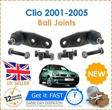 For Renault Clio MK2 2001 2005 2 Front Bottom Ball Joints Pair New Good Quality